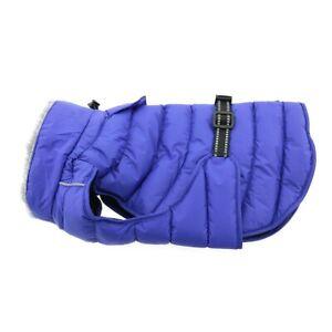 Doggie Design Alpine Extreme Cold Waterproof Puffer Jacket Blue 4XL