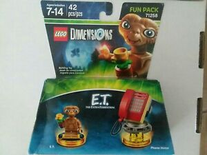 Lego Dimensions E.T. Phone Home Pack 71258 New in Box  Only way to get LEGO E.T.