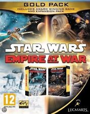 Star Wars Empire At War Gold Pack PC NEW and Sealed ACTUAL GAME NOT STEAM!