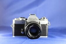 Minolta XD-5 35mm SLR Film Camera With 50mm f/1.7 Lens MINT NO RES