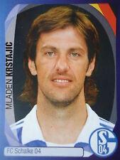 Panini 368 mladen krstajic FC shalke 04 uefa cl 2007/08