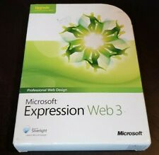 Microsoft Expression Web 3 Upgrade - Professional Web Design Software UCQ-00819