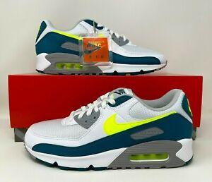 Nike Air Max III 3 90 QS Spruce Lime White Green Run Men's Size 9.5 CZ2908-100