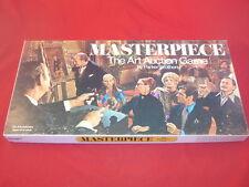 Vintage Parker Bros MASTERPIECE The Art Auction Boardgame 1970 Complete!
