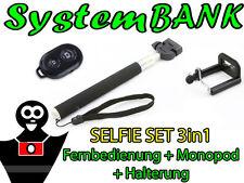 SELFIE SET Fernbedienung Bluetooth Monopod SAMSUNG GALAXY EXPRESS 2 K ZOOM EDGE