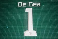 Manchester United 13/14 #1 DE GEA UEFA CL HomeKit / Awaykit Nameset Printing