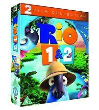 Rio 1 & 2 1-2 Blu-ray 2 Movie Collection Box Set Region B NEW SEALED