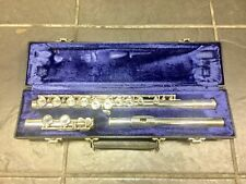 Elkhart Emerson Silver Plated Flute Indiana USA