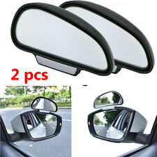 2 piece Adjustable Blind Spot Mirror Rearview Wide Angle Mirrors (left+right)