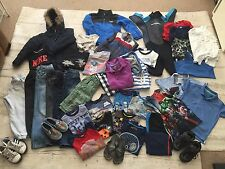 JOBLOT 37+ items Boys Clothing Bundle:ZARA H&M NEXT, North Face.Mostly 5-6 yrs