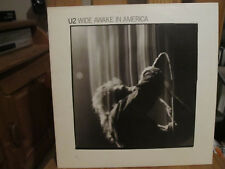 U2 – Wide Awake In America Vinyl LP Island Records – 90279-1-A 1985