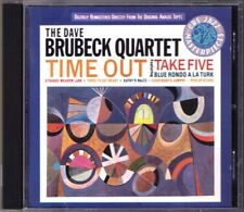 Dave BRUBECK QUARTET: TIME OUT Take Five Blue Rondo A La Turk Kathy's Waltz CBS
