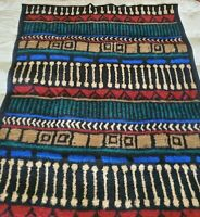 Biederlack Aztec Design 2 Sided Throw Blanket 78x59