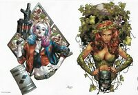HARLEY QUINN & POISON IVY #2 (OF 6) - JAY ANACLETO MINIMAL - Poison Ivy Variant
