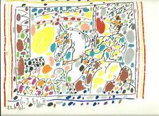 Pablo Picasso 1961  Le Picador,   Original-lithographie