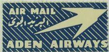 Original Aden Airways Air Mail Poster Stamp P131
