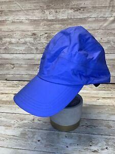 LL Bean Adult 5 Panel Hat Blue/lilac/purple  268972