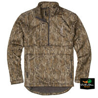 NEW BROWNING WICKED WING 1/4 ZIP HIGH PILE FLEECE JACKET  - BOTTOMLAND CAMO -