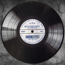 Felpudo/Alfombra - Vinilo Lp disco - acerca de lo que rockt (60cm) 100871