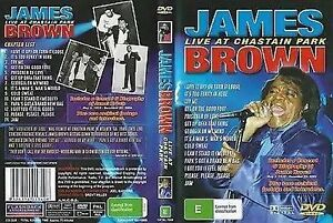 James Brown: Live at Chastain Park DVD (2004) James Brown