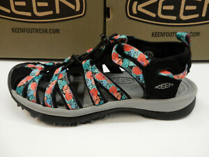Keen Womens Whisper Black Multi 7