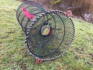 UK legal Collapsible Crayfish trap. In stock, FREE postage