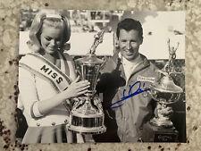 Mario Andretti Signed 8x10 Photo Autographed Daytona 500 Champion