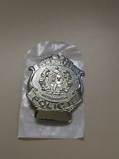 Obsolete 1904 Pattern St. Louis Police Patrolman Badge Never Issued with Number