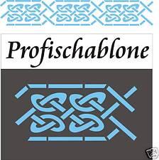 Malerschablone, Wandschablone, Stupfschablone, Dekorschablone, Keltischer Knoten
