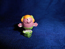 LITTLE MISS HELPFUL Mr. MEN Mini Figurine French Porcelain FEVES Figure Mister