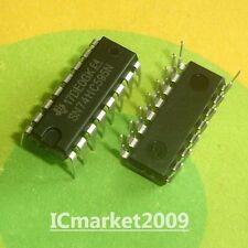 100 PCS SN74HC595N DIP-16 74HC595N 74HC595 HC595 8-BIT SHIFT REGISTERS