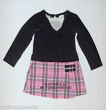 BLUEBERI BOULEVARD - DRESS – PINK & BLACK PLAID – GIRL - SIZE 4T – NEW $30