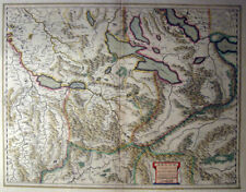 c1610-20 LUCERNE Alps SWITZERLAND * MERCATOR 38 x 49cm