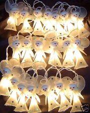 White Angels Fairy Light String Children's Bedroom, Nursery Or Christmas Tree