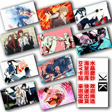 Hot Anime K project Swim Club  10 pc/set  Card Paster IC Card Sticker Cosplay A
