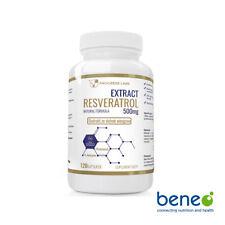 Resveratrol Extrakt 500mg + probiotische 120 - 360 Kapseln - Vitis vininfera L