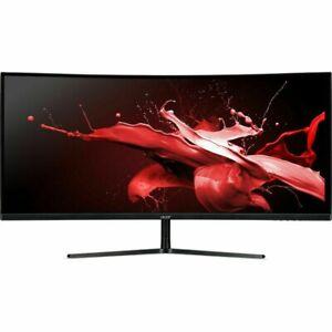 """Acer EI342CKR - 34"""" Gaming Monitor QHD 3440x1440 144Hz 21:9 VA 1ms 320Nit"""