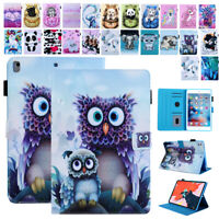 """For iPad 5/6/7th Gen 10.2""""Mini 5 43 Smart Patterned Leather Card Slot Case Cover"""