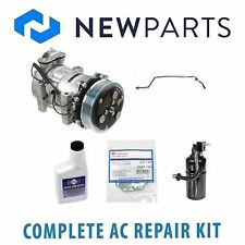 Jeep Cherokee L6 4.0L 1997 Complete A/C Repair Kit New Compressor with Clutch