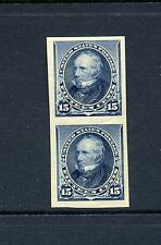 Scott #227P5 Henry Clay Mint NH Imperf Plate Proof Pair of Stamps on Stamp Paper