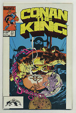 Conan the King #22 1984 Alan Zelenetz Marc Silvestri Geof Isherwood MW Kaluta v