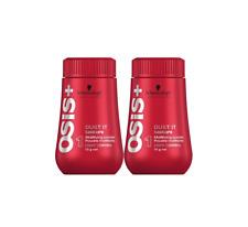 2x Schwarzkopf Osis+ Dust It 10g Mattifying Powder Volumenpuder Matt Texture