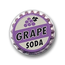 Grape Soda Button Badge Pin Logo - 25mm 1 inch - Up! Disney Novelty