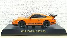 1/64 Kyosho PORSCHE 911 GT3 RS ORANGE/BLACK diecast car model