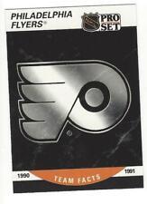 PHILADELPHIA FLYERS 2 Team Cards1990-91 Pro Set #579 1993-94 Panini #45 NM-MT