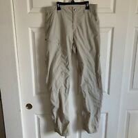 Columbia Mens Insect Blocker Mosquito Cargo Pant NWT 38x34 Beige tags! New