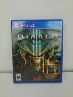 Mint Disc Playstation 4 Ps4 Diablo III 3 Eternal Collection - Rare - Free Post