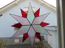 Tiffany Glas, Stern, Fensterbild, Handarbeit, Weihnachts- Stern, Fensterdeko
