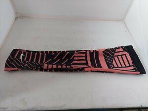 Nike Pro Printed Arm Sleeves(pair) Women's M/L Sunblush/Black/White XS/S