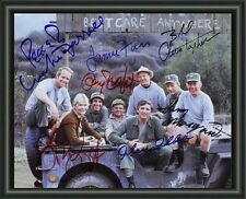 MASH CAST  SIGNED AUTOGRAPHED A4 PHOTO POSTER  FREE POST